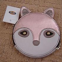 Fossil Gift Fox Zipcoin Wallet Rose Gold Sl4432791 Nwt  Great Gift Photo
