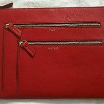 Fossil Gift Multi Zip Case Scarlet Sl4864602 Photo