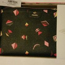 Fossil Gift Prt Wristlet Wallet Black Multi  Photo