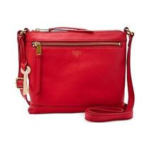 Fossil Gifting Leather Crossbody in Real Red 128 Photo