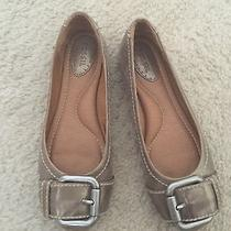 Fossil Gold Flats Size 5.5 Photo