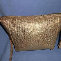 Fossil    Gold Metallic  Crossbody Bag Photo
