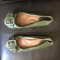 Fossil Green Buckle Flats  8 Photo