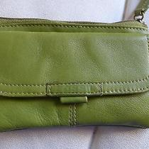 Fossil Green Genuine Leather Coin Purse Photo