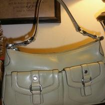 Fossil Green Leather Bag Guc Photo