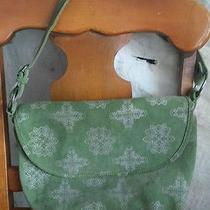 Fossil Green Leather Purse Photo
