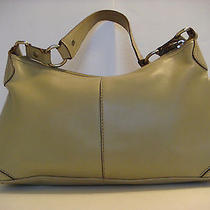 Fossil Green Leather Shoulder Bag Handbag Purse Photo