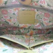 Fossil Green Leather Weave Handbag Photo