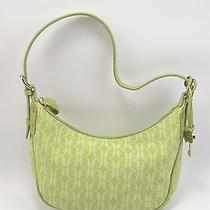 Fossil Green Logo Print Shoulder Purse Bag Photo