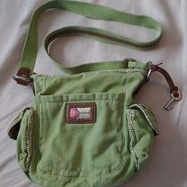 Fossil Green Messenger Bag Photo