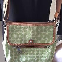 Fossil Green Print Cross Body  Photo