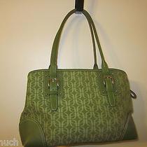 Fossil Green Signature Handbag Photo