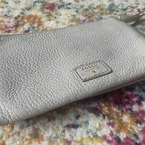 Fossil Grey Leather Womens Wallet Photo