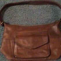 Fossil Handbag Brown Leather Crossbody Photo