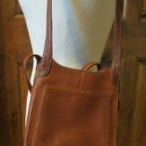 Fossil Handbag Brown Leather Purse Bag Built in Wallet Photo