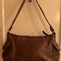 Fossil Handbag Classic Shoulder Bag Soft Leather Purse Brown Small Photo