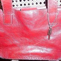 Fossil Handbag Red Medium Purse Photo