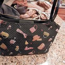 Fossil Handbag With Shoes Boots and Hats on Black Background Fossil Charm Cute Photo