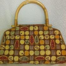 Fossil Handbag With Wood Handles Photo