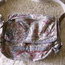Fossil Handcrafted Eastern Indian Inspired Floral Messenger Bag Love It Photo
