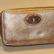 Fossil Happy Jewelry Travel Case Multi Copper Metallic Swl0101998 Nwt Photo