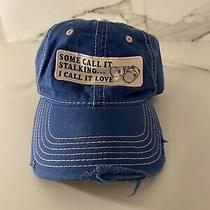 Fossil Hat Snapback Some Call It Stalking I Call It Love Female Girls Hat  Joke Photo