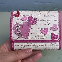 Fossil Heart Love Notes Bifold Leather Wallet  Photo