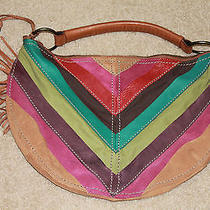 Fossil Hobo Handbag (Leather  Cloth) Photo