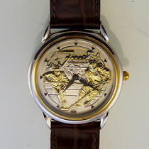 Fossil Hockey Skaters Limited Edition Watch New Unworn Ltd 816/20000 Only 99 Photo