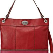 Fossil Hunter Hobo in Multi Red Photo