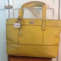 Fossil - Hunter Leather Shopper - Citrus Photo