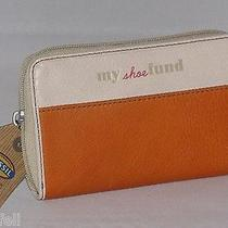 Fossil Hunter Multi Zip Wallet Light Orange