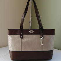 Fossil Hunter Shopper Tote Champagne  Photo