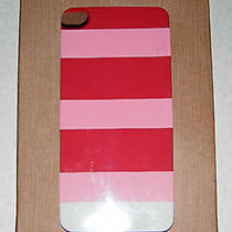 Fossil  Iphone 5 Phone Case - Key Per  Pink Stripes Photo