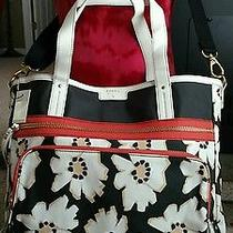 Fossil Ivy 1954 Tote Shoulder Bag Nwt Natural Floral Guaranteed Authentic  Photo