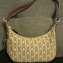 Fossil Jacquard Logo F Key Hobo Satchel Purse Handbag Zb 4058 Euc Photo