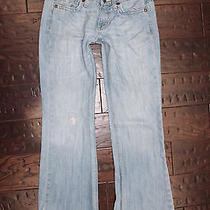 Fossil Jeans Smith Low Rise Flare Size 4 S Short 721 Photo