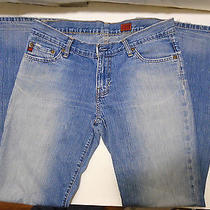 Fossil Jeans Smith Sundried Blue Boot Women's Denim Jeans Size 8 Photo