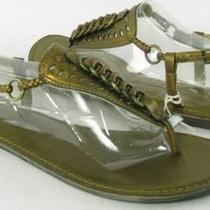 Fossil Julianne Sandals Bronze Womens Size 10 M New 49 Photo