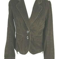 Fossil Junior's Blazer Size L Corduroy 100% Cotton Boho Career Fun Photo