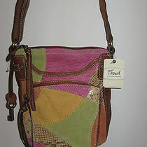 Fossil Kenya Camera Handbag -- Bright Multi -- New  Photo