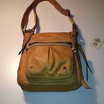 Fossil  Kenya Camera Handbag  Crossbody  Purse  Yellow  Nwt Photo