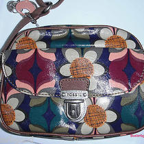 Fossil Key Per Camera Bag Purple Blue Floral 88 Photo