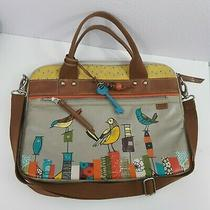 Fossil Key Per City Birds Laptop Messenger Bag Photo