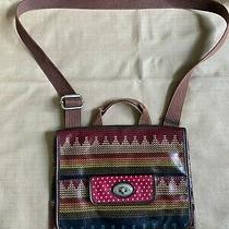Fossil Key-Per Coated Canvas Crossbody Purse Photo