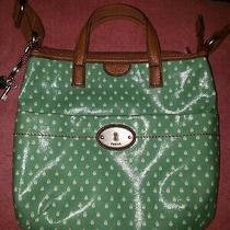 Fossil Key-Per Cross Body Messenger Bag  - Top Zip Zb5125 Ladybugs Green Photo