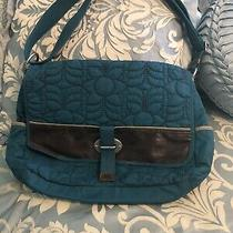 Fossil Key-Per Messenger Bag Large Crossbody Euc Photo
