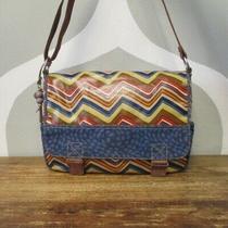 Fossil Key-Per Multicolored Shoulder Messenger Bag Photo