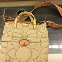 Fossil Key Per Quilted Crossbody Bag Top Handles Tote Medium Handbag Purse Photo