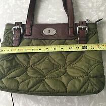 Fossil Key Per Quilted Stitch Crossbody Purse Bag Messenger Photo